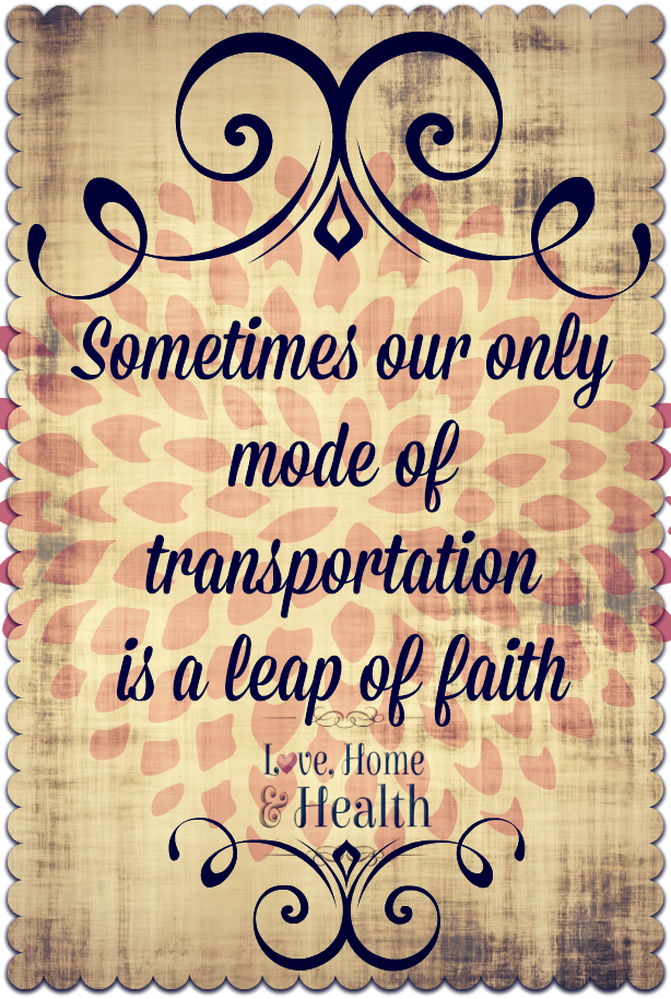 Leap of Faith - Love, Home and Health