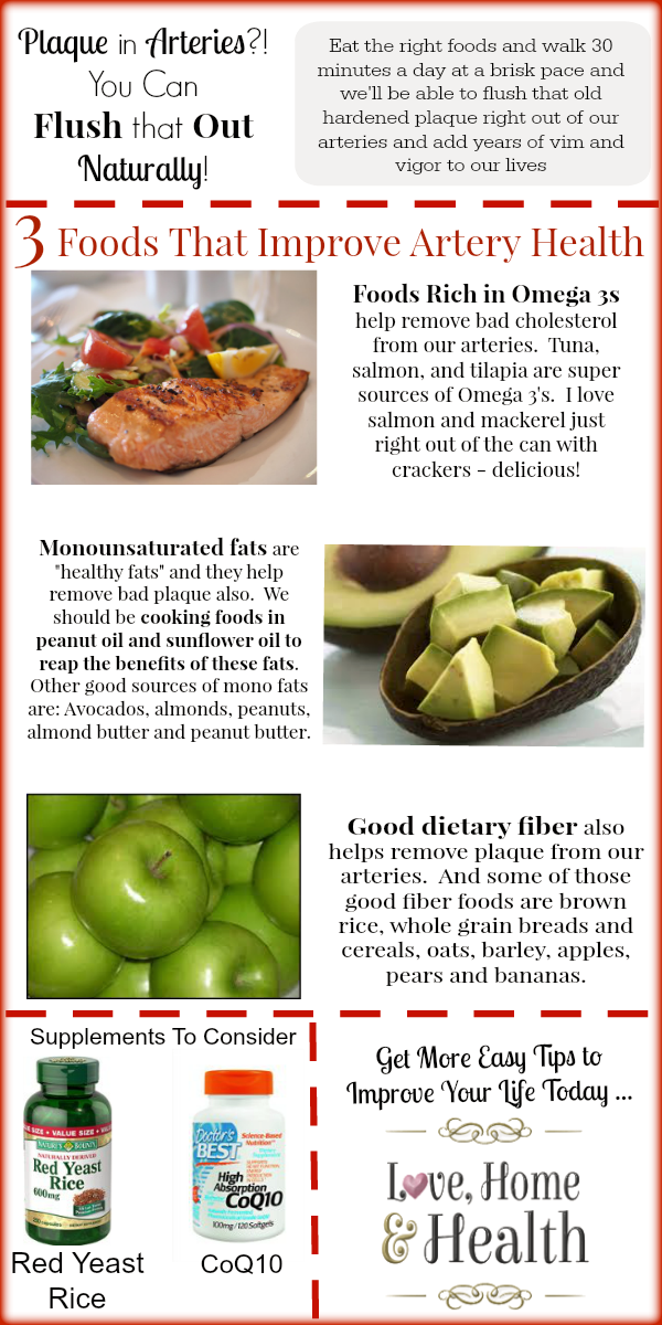 Best Foods For Atherosclerosis