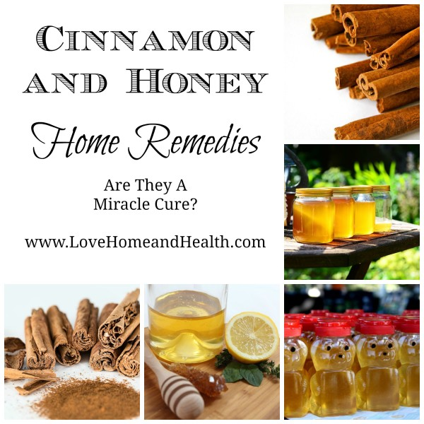Cinnamon and Honey Cures - Love, Home and Health