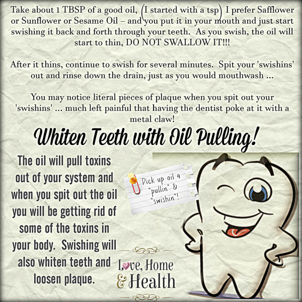 tooth whitening at home - Love, Home and Health