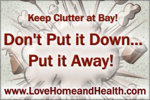 How to Speed Clean Your House - Love Home and Health