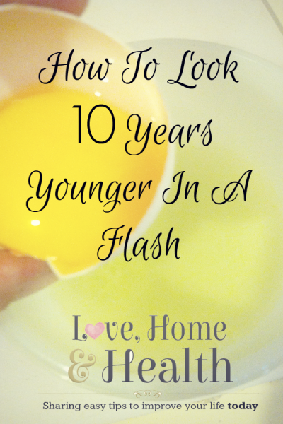 """Look ten years younger - Love, Home and Health"""