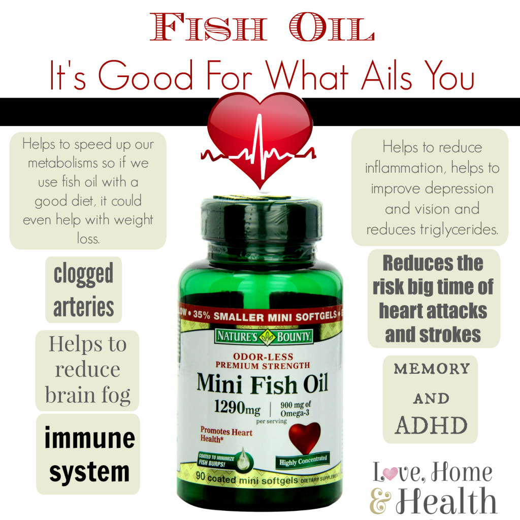 fish oil good for what ails you love home and health
