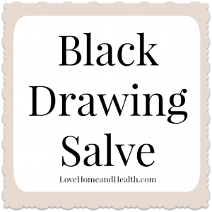 The Miracle of Dr Christopher's Black Drawing Salve