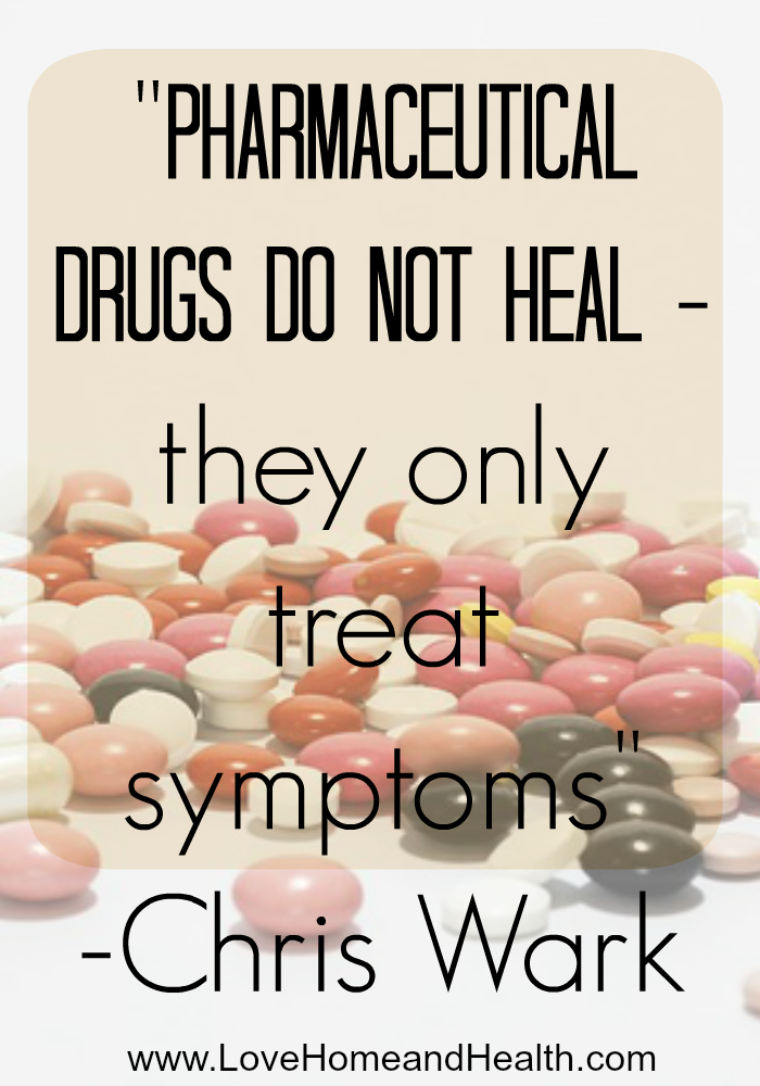 Cancer - Pharmaceutical Drugs Do Not Heal @ www.LoveHomeandHealth.com
