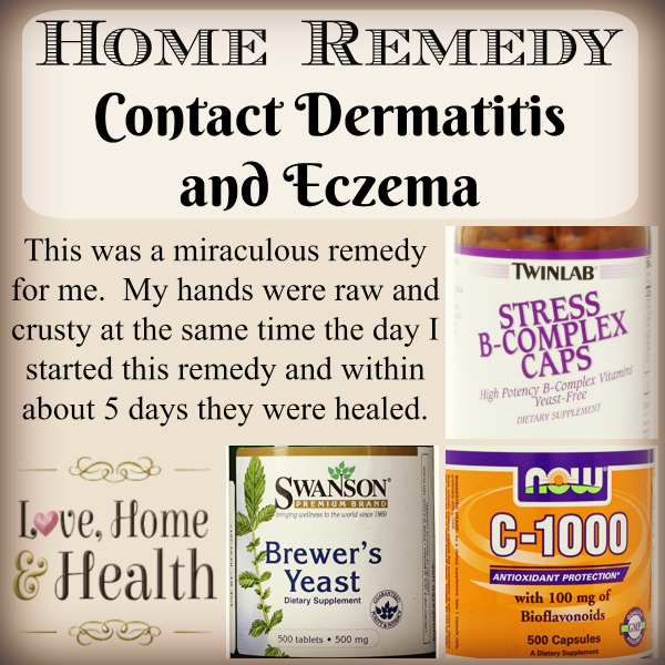 contact dermatitis treatment - Love, Home and Health