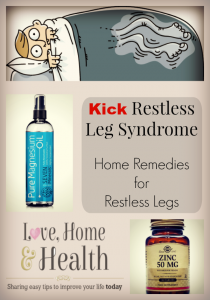 Natural Remedies for Restless Leg Syndrome – Kick Restless Leg Syndrome