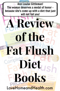 Fat Flush Diet Books - Love Home and Health