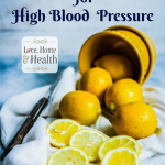 blood pressure - lemon remedy - love, home and health