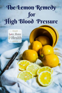 Lemons To The Rescue For High Blood Pressure