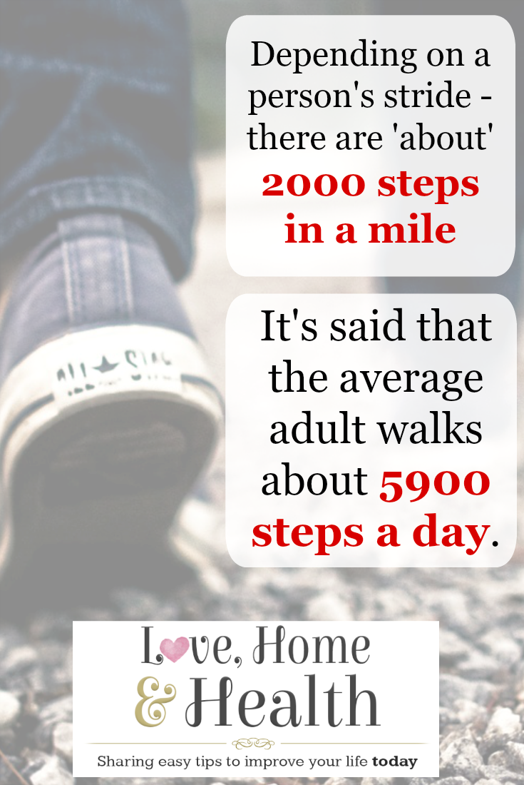 Walking Fun Facts - Love, Home and Health