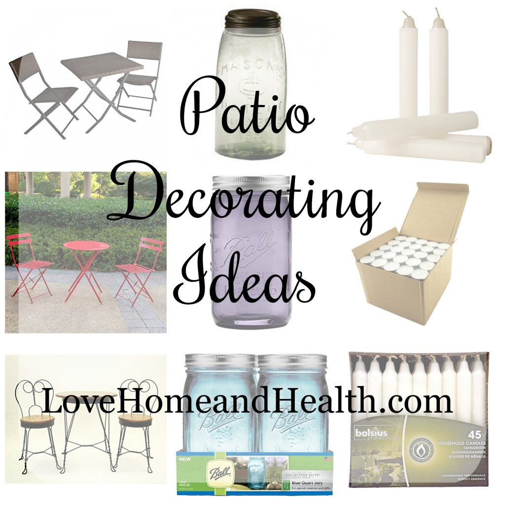 Patio Decorating Accessories - Love Home and Health