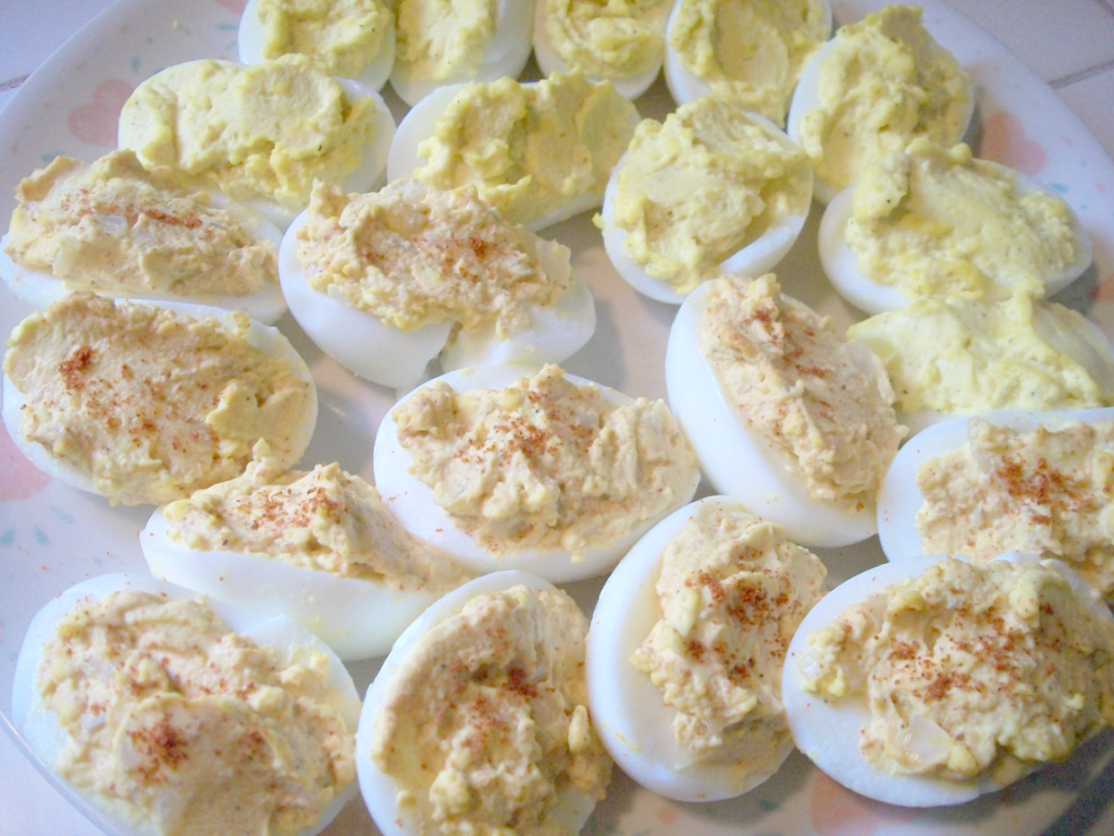 easy classic deviled eggs - love, home and health
