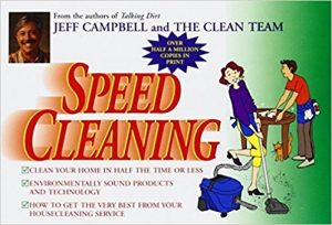 Speed Cleaning Book - Jeff Campbell - Love Home and Health